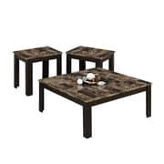 Monarch Table Set 3 Pcs Square Cappauccino