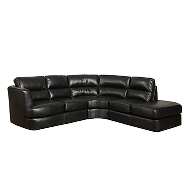 Monarch Bonded Leather Black