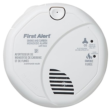 First Alert® Combination Alarm with Voice Locate