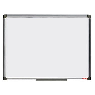 Staples Melamine 2 Sided Dry-Erase Board, Aluminum Frame, 35