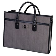 "Simon Chang 15.6"" Ladies Laptop Case, Grey"