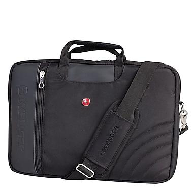 Wenger – Mallette pour ordinateur portatif de 17 po, noir