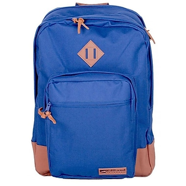 WillLand Outdoors – Sac à dos 40L College Luminosa Forte, bleu marine