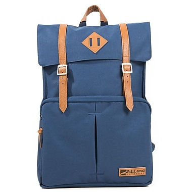 WillLand Outdoors College Fortuna 22L Backpack, Navy