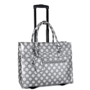 Cabrelli Dot Roller Briefcase; Grey