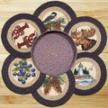 EarthRugs 7 Piece New England Trivets in a Basket Set
