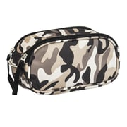 Obersee Kids Camo Toiletry and Accessory Bag