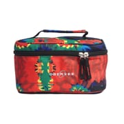 Obersee Kids Tie Dye Toiletry and Accessory Train Case