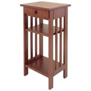 Manchester Wood Multi-Tiered Telephone Table; Chestnut