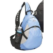 G-Tech Psycho iPod Sling Backpack; Ice Blue