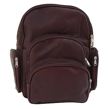 Piel Expandable Backpack; Chocolate