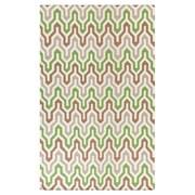 Jill Rosenwald Rugs Fallon Spruce Hand-Woven Green Area Rug; 8' x 11'