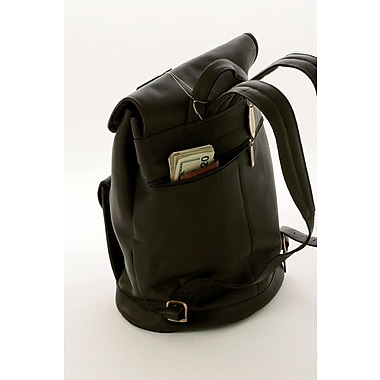 Claire Chase Classic Backpack; Black