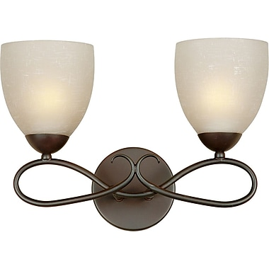 Forte Lighting 2 Light Vanity Light