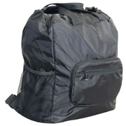 Netpack U-zip Backpack and Tote Bag; Black