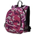 Obersee Kids All-In-One Pre-School Backpack; Pink Camo
