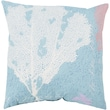 Surya Eye Catching Coral Pillow; 18''