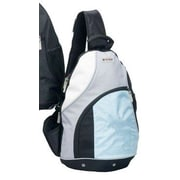 G-Tech Replay iPod/MP3 Player Sling Backpack; Rain Blue