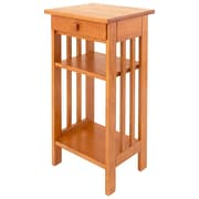 Manchester Wood Multi-Tiered Telephone Table; Golden Oak