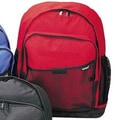 Preferred Nation Outdoor Gear Computer Backpack; Red
