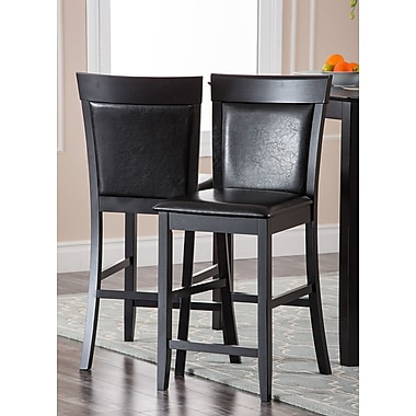 Abbyson Living Odessa Bar Stool with Cushion (Set of 2)