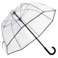 Elite Rain Premium Fiberglass Bubble Umbrella; Black Trim