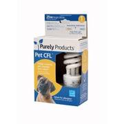 Purely Products Pet CFL 7 Watt-25 Watt Equivalent Air Purifier