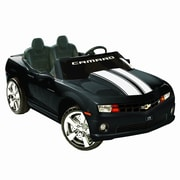 Kidz Motorz Racing Camaro 12V Battery Powered Car; Black
