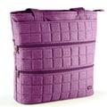 Lug Taxicab Full Tote Bag; Plum Purple