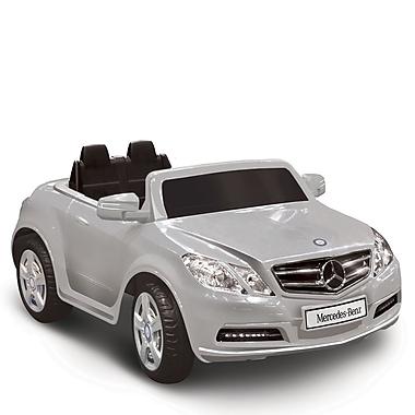 Kidz Motorz Mercedes Benz E550 6V Battery Powered Car; Silver