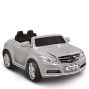 Kidz Motorz Mercedes Benz E550 6V Battery Powered Car; Silver
