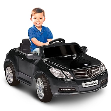Kidz Motorz Mercedes Benz E550 6V Battery Powered Car; Black