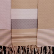 Scents and Feel Fouta Honeycomb Weave Hand Towel; White