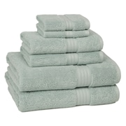 Kassatex Kassadesign Egyptian Cotton 6 Piece Towel Set; Robins Egg Blue