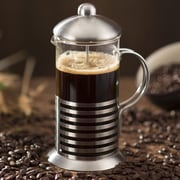 Ovente Stainless Steel French Press Coffee Maker; 0.37 Qt.