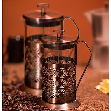 Ovente Flower French Press Coffee Maker; 34 oz.