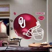 Fathead College Teams NCAA Helmet Wall Decal; Oklahoma