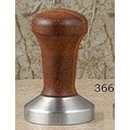 La Pavoni Stainless Steel and Wood Espresso Tamper; Rosewood