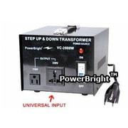 Power Bright 2000W Step Up / Down Voltage Transformer