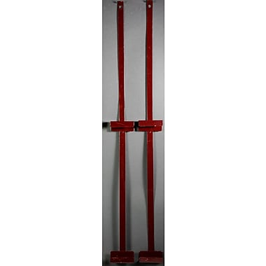 Oriental Furniture 24'' Room Divider Bracket; Rosewood
