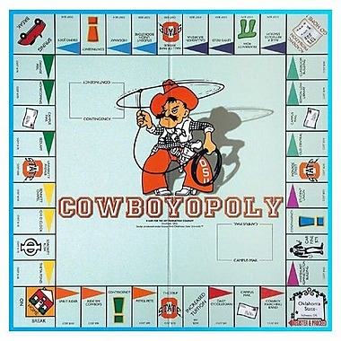 Late for the Sky NCAA Board Game; Oklahoma State