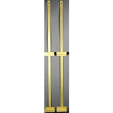Oriental Furniture 18'' Room Divider Bracket; Black