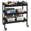 Buddy Products 33.5'' Utility Cart; Black