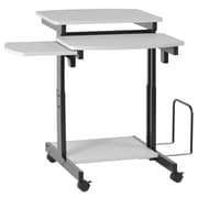Buddy Products Capri Compact PC AV Cart; Grey