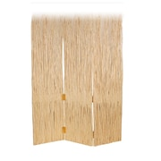 Screen Gems 84'' x 63'' Adirondack 3 Panel Room Divider; White