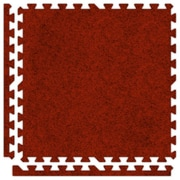Alessco SoftCarpets Set in Red; 20' x 20'
