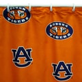 College Covers NCAA Printed Shower Curtain; Auburn