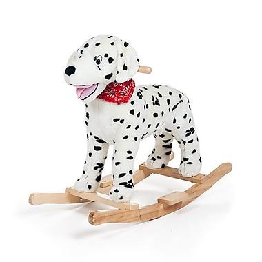 Happy Trails Rocking Doug Dalmatian Ride On Rocker