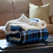 Lavish Home Fleece/Sherpa Throw Blankets