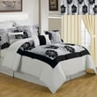 Lavish Home Room-In-A-Bag Madison Polyester 25 Piece Bedroom Set, King